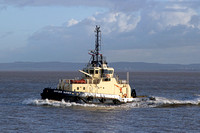 Svitzer Sussex in Eastham channel 14/02/13