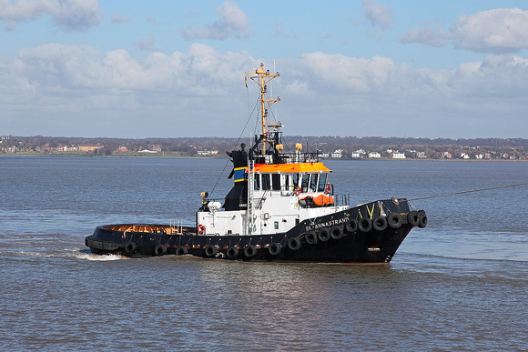 'St Annastrand' Jobs ferry 10th March 2015