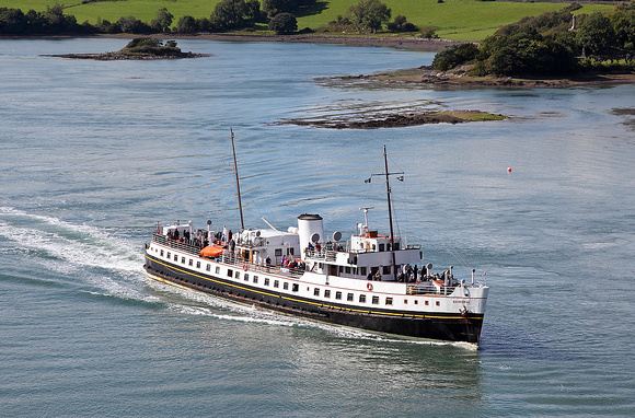 'Balmoral' Menai bridge 5th September 2015