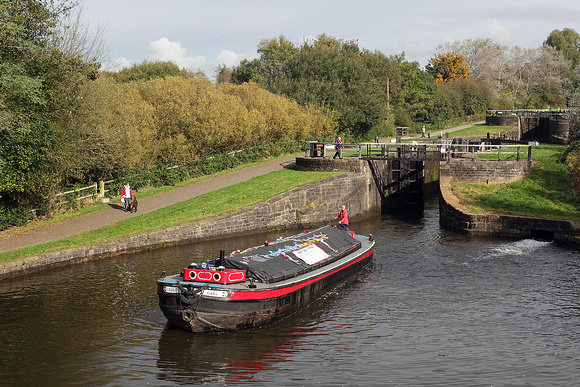 'Ribble' lock no 74 21st October 2016