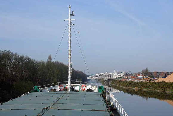 Walton arm + Chester road swing bridge