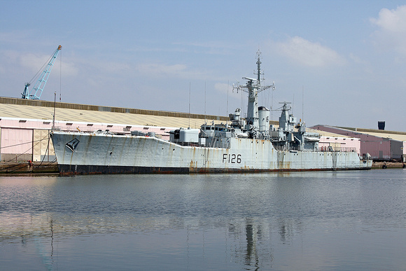 'HMS Plymouth' Vittoria Dock 27th July 2008