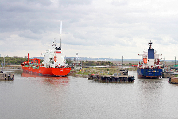Vale + Clyde Fisher at Stanlow oil dock