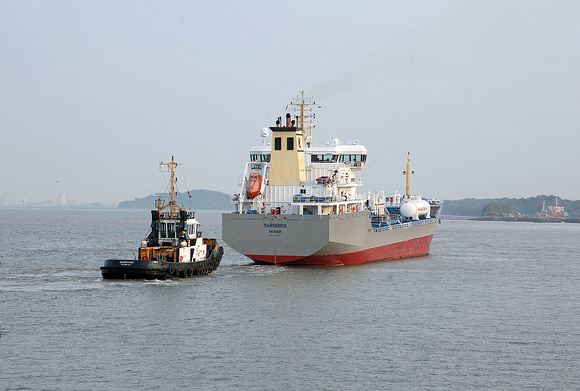 'Zeebrugge' + 'Tarnbris' 16th September 2014