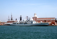D108 'HMS Cardiff' Portsmouth 14th July 2003