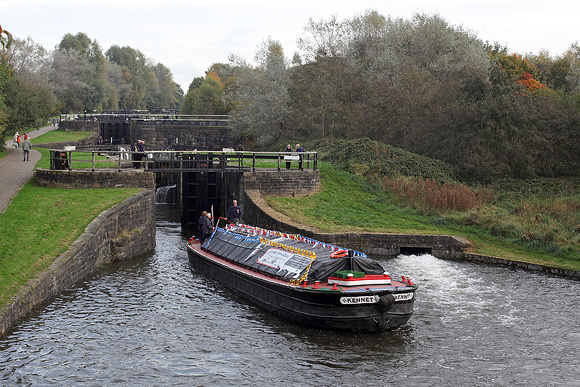 'Kennet' lock no 74 21st October 2016