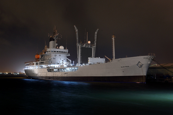 'RFA Black Rover' Birkenhead 13th November 2015