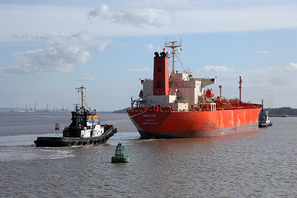 'Nariva' off Jobs ferry 10th March 2015
